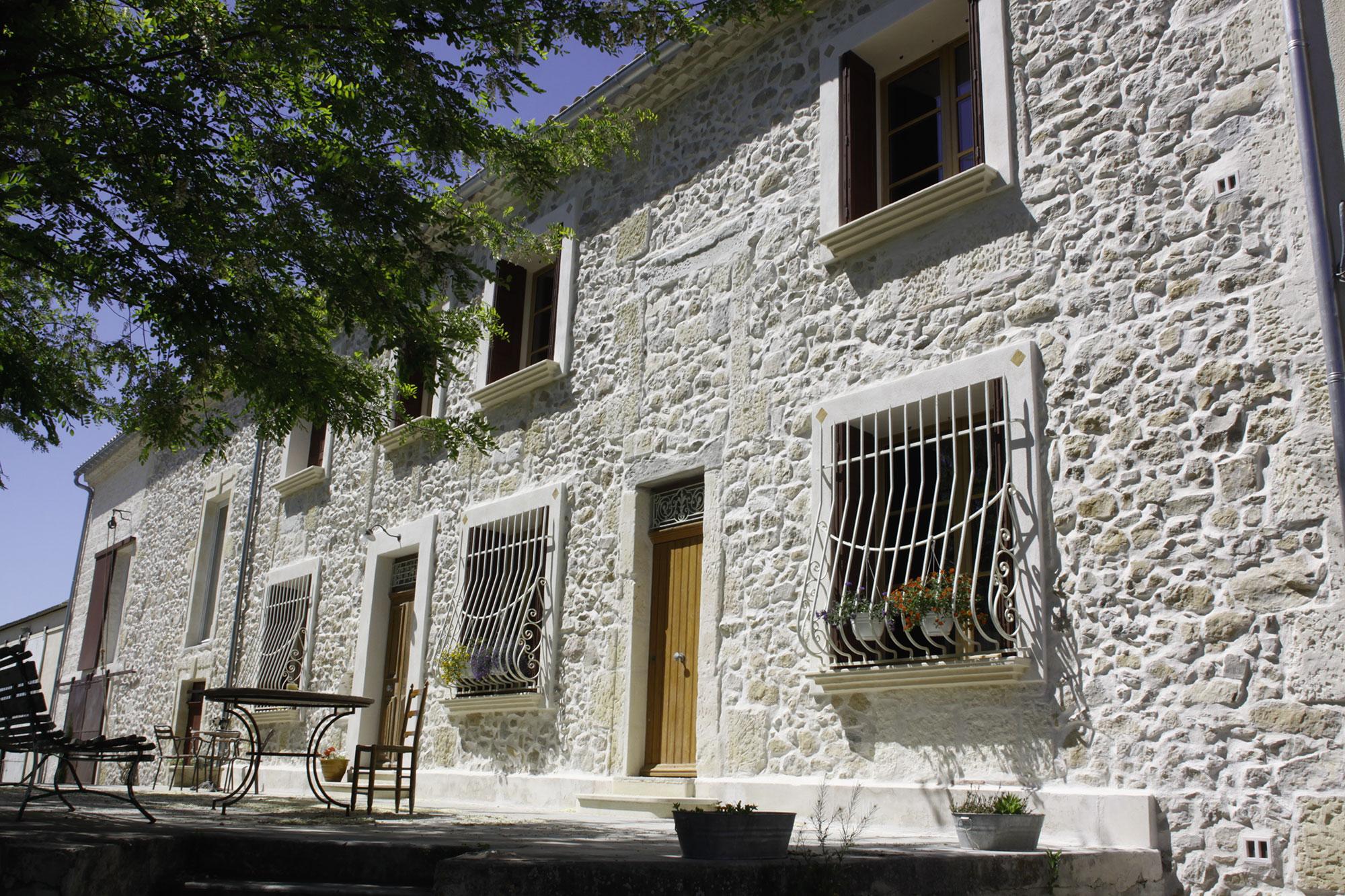 Maçonnerie, maison provençale